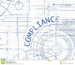 Compliance Graph Paper Machine Stock Vector Illustration