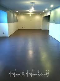 Painting Basement Floor Ideas Interesting Ideas