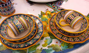 Dining Roommodern Italian Ceramic Dinnerware Plates And Cups . for Italian  Ceramic Table Tops