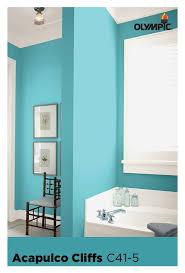 aqua paint colors181 best Blue Paint Colors images on Pinterest  Olympic paint