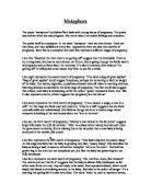 mirror by sylvia plath review gcse english marked by   metaphors by sylvia plath critical review