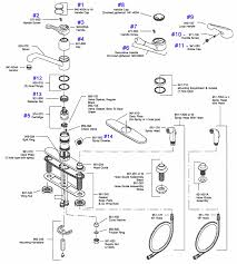 pfister genesis series single control kitchen faucet repair parts