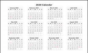 2020 calandars free blank printable calendar 2020 template in pdf excel