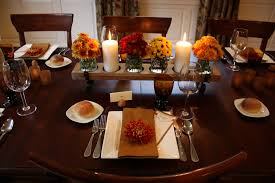 Kitchen Table Setting Dining Room Table Settings For Thanksgiving Beautiful Kitchen