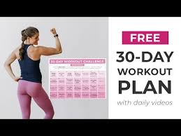 postpartum workout plan 30 day