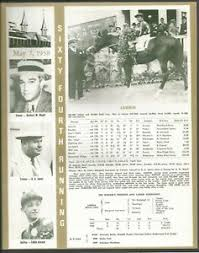 Kentucky Derby Race Chart Details About 1938 Lawrin Kentucky Derby Wc Race Chart Jockey Trainer Owner