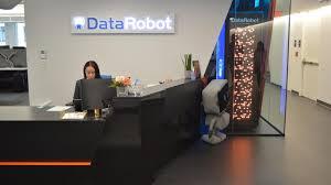 BostInno - #OfficeEnvy: Inside DataRobot's New Spaceship-Like Office