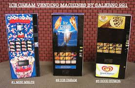 Vending Ice Machines Awesome One Ice Cream Vending Machine 4848 O Scale Diorama Miniature EBay