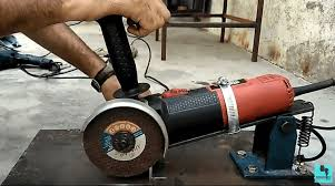 craft your own sy angle grinder support from metal s