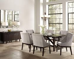 candice cappuccino wood buffet table dark table white rugs wooden cabinets lighting mirror and modern dining modern dining room furniture