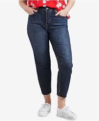 Trendy Plus Size High Waist Skinny Wedgie Jeans