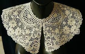 Lace, Crochet & Doilies - Bertha Collar