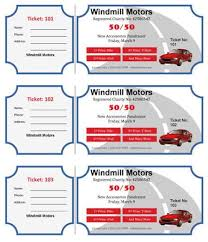Microsoft Word Ticket Templates 15 Free Raffle Ticket Templates Follow These Steps To Create Your
