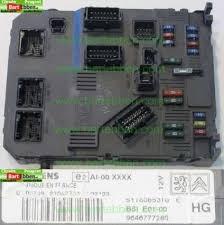 peugeot 206 fuse box large used car part stock bsi e01 00 hg siemens s118085310e 9646777280 zie 658063