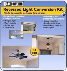 recessed lighting with ceiling fan p