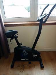 exercise bike with gel seat cover like new everlast everfit xv9 magnetic exercise bike