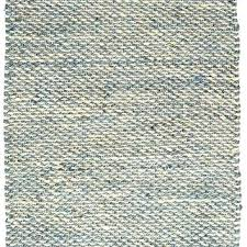 french blue woven jute rug 2x3 area