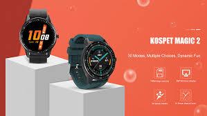 "<b>KOSPET MAGIC 2</b> Smart Watch 200mAh Waterproof <b>1.3</b>"" Full Round ..."