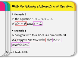 Conditional Statements | If-Then Statements