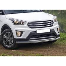 <b>Защита переднего бампера d57</b>+<b>d42</b> Rival для Hyundai Creta I ...