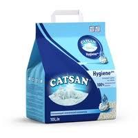 <b>Наполнитель Catsan</b> Hygiene Plus (<b>10 л</b>) — <b>Наполнители</b> для ...