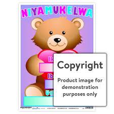 Teddy Bear Chart Niyamukelwa 12