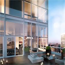 Apartments. Luxury New York Penthouse Inspiration. Trendy New York Penthouse  Inspiration With White Sofas
