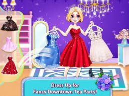 f dressup makeup tea party