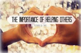 the importance of helping others youth are awesome the importance of helping others