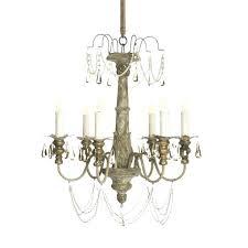 aiden gray lighting chandelier crystal aidan