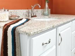 1 granite square edge countertop