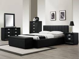 bedroom black furniture. beautiful black the 25 best black leather bed ideas on pinterest  vaulted  throughout bedroom furniture