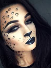 y leopard makeup ideal for a fancy dress party makebeautysimple cath millen