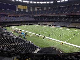 Fedex Field Loge Seating Chart Mercedes Benz Superdome View From Loge Level 330 Vivid Seats