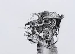 Untitled 10 by artist Gopal Shinde   pencil Drawings on Paper