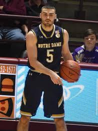 Notre Dame Basketball Depth Chart Matt Farrell Wikipedia