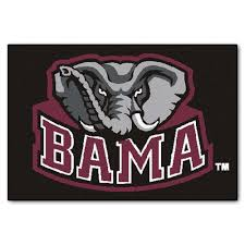 this review is from university of alabama 2 ft x 3 ft area rug