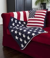 American Flag Pillow Green Accessories