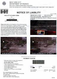 Red Light Summons Nyc Ohio Resident Stuck With Bogus New York Red Light Camera Ticket