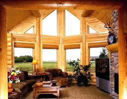 Log Cabin Living Room Concept Simple Decorating Ideas