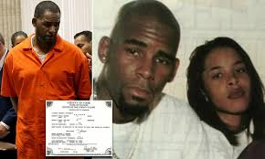 Singer robert kelly, known as r. R Kelly Paid Government Employee 500 For Aaliyah Fake Welfare Id To Obtain Marriage License Daily Mail Online
