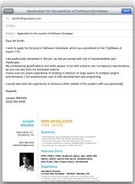 How To Send A Resume 12 By Mail Template Email Resume Template