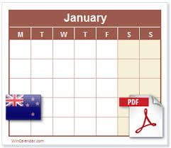 2020 calendar free template free 2020 nz calendar pdf printable calendar