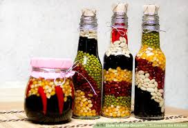 Olive Oil Decorative Bottles How To Make Decorative Bottles For The Kitchen 100 Steps 54