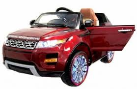 Детский <b>электромобиль Hollicy Range Rover</b> Luxury Red MP4 12V ...