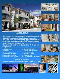 homes in los angeles for example of condo flyer fact sheet condos builidng