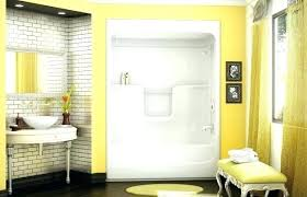 one piece bath shower unit shower modules compact 1 piece bathtub shower modules everyday smooth tile one piece bath shower unit