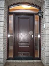exterior door wood or fiberglass steel entry doors with sidelights regarding single glass decor 16