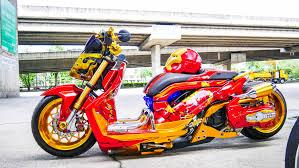 Honda Zoomer-X Club วุฒิชัย อินเมฆ (โอ) ironman - Buddy Bike Thailand