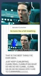 Benedict Cumberfish... - The Meta Picture via Relatably.com